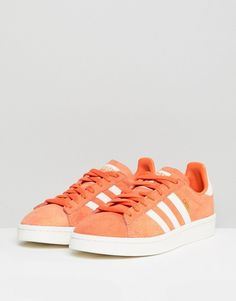 finest selection 29068 4098d adidas Originals   adidas Originals Campus Sneakers In Orange Adidas  Originals, Black Friday, Trainers