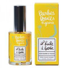 L'huile à Barbe & Visage Douces Angevines Nigella Sativa, Doux Good, Beard Oil, Face Care, Perfume Bottles, Man, Unique, Smooth Face, Great Beards