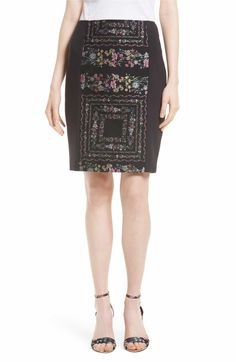 c8badbf28cd85 ... Jaya Lace Hem Sweater. See More. from Nordstrom · Main Image - Ted  Baker London Annasa Floral Embroidered Pencil Skirt
