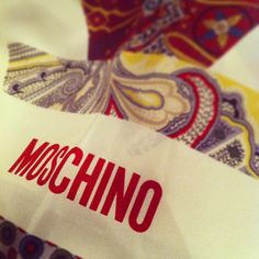 Photo by vjford #moschino #mymoschino #scarf
