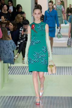 A look from Prada's fall 2015 collection. Photo: Imaxtree