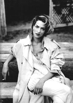 #TatjanaPatitz photographed by #FabrizioFerri for Marie Claire Italia March 1992