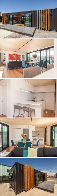 NEW ZEALAND WEEKEND CONTAINER HOME