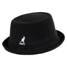 Bermuda Mowbray Hat by Kangol available at  VillageHatShop Pork Pie Hat 89d1fa44a5e