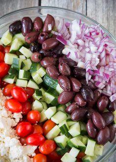 Good Seasons Greek Orzo Salad