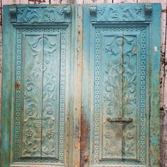 Antique Doors at The Design House at The Old Lucketts Store --- August 2013