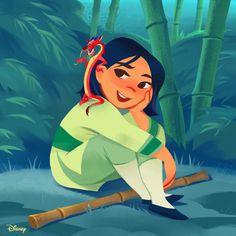 Mulan and Mushu Walt Disney, Disney Nerd, Disney Music, Disney Films, Disney Fan Art, Disney And Dreamworks, Disney Pixar, Disney Characters, Punk Disney