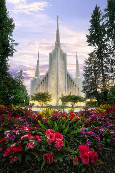 Oregon - Portland LDS Temple Art Photographs