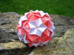 Origami ✺ Primrose ✺ Kusudama - YouTube