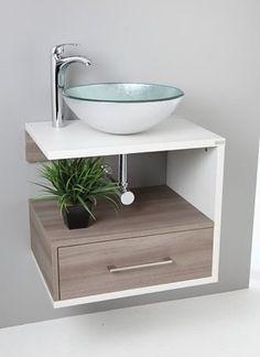 Mueble bajo lavabo con caj n extra largo ideal para - Muebles de lavabo ...