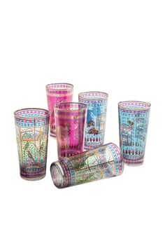 Goodearth - Serai Glasses (Set of 6)
