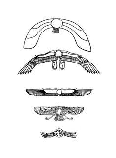 Ancient UFO symbols