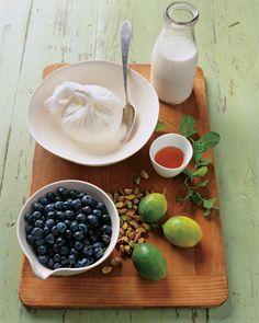 Blueberry-Yogurt Fool Recipe | Martha Stewart