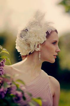 Love this hair piece!!! Penelope Handmade | handmade vintage weddings