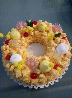 Cream tart: tante idee per torte a forma di lettere e numeri Cake Lettering, Fresh Cake, Number Cakes, Cake & Co, Food Obsession, Fruit Tart, Buttercream Cake, Love Cake, Sweet Cakes