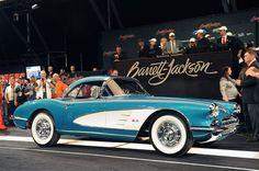Dan Akerson's 1958 Chevrolet Corvette, sold at Barrett-Jackson auction for a heap o' cash!