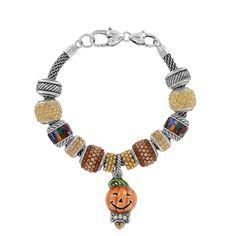 Brighton charm bracelet idea - autumn colors