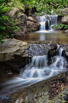 Kimball, West Virginia (I have family here) Beautiful Waterfalls, Beautiful Landscapes, West Virginia Waterfalls, Beautiful World, Beautiful Places, Amazing Nature, Vacation Spots, Land Scape, Places To See