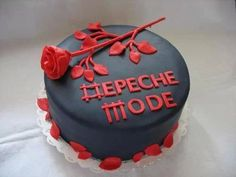 Depeche Mode designed birthday cake #violator