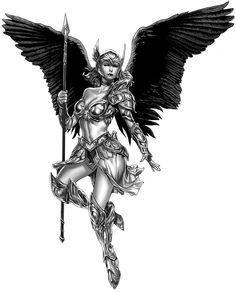 Valkyrie artwork by Mico Suayan for DRONEFACE.ORG