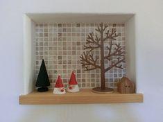 クリスマス 玄関ニッチ