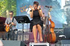 """KELLYLEE EVANS COGNAC 2013 La fatalité s'acharne sur la belle et talentueuse chanteuse canadienne Kellylee Evans que j'avais eu le plaisir de découvrir au festival """"Blues Passions"""" à Cognac en 2013. Elle avait été atteinte par la foudre chez elle en juin..."""