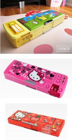"""""""hello kitty school supplies"""" by csorrells-i ❤ liked on Polyvore"""