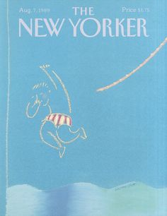 The New Yorker - Monday, August 7, 1989 - Issue # 3364 - Vol. 65 - N° 25 - Cover by : Merle Nacht