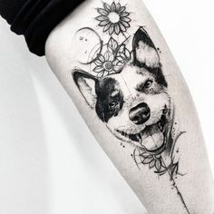 10 Of The Best Dog Tattoo Ideas Ever - Tap the pin for the most adorable pawtastic fur baby apparel! You'll love the dog clothes and cat clothes! <3