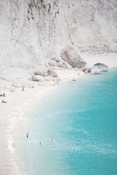 White beach love.