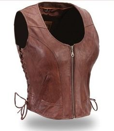 83.99$  Buy now - http://vighk.justgood.pw/vig/item.php?t=gimyn459644 - FIRST CLASSICS WOMEN'S CLEAN SIDE-LACE BROWN VEST FIL542SVTFIRST CLASSICS WOM 83.99$
