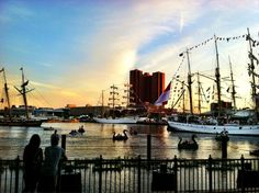 It's a Star-Spangled Sailabration in Baltimore! http://starspangled200.com/