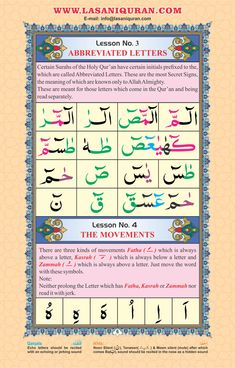 Lesson 3 Learn to read Quran online. How To Read Quran, Learn Quran, How To Memorize Things, Sunnah Prayers, Good Prayers, Prayer For Forgiveness, Tajweed Quran, Arabic Alphabet For Kids, Rules For Kids