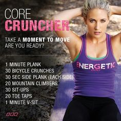 Pink's Ab Workout Routine...