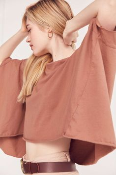Truly Madly Deeply Around The World Dolman Sleeve Tee - Urban Outfitters