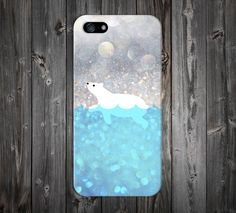 Polar Bear Swim Case x Arctic Snow Design Case for iPhone 6 6 Plus iPhone 7 5s 5c 4 4s Samsung Galaxy s7 edge s6 and Note 7 5 4 3 by CaseEscape on Etsy https://www.etsy.com/uk/listing/226406381/polar-bear-swim-case-x-arctic-snow