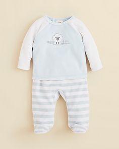 Absorba Infant Boys' Longsleeve Sheep Top & Striped Pants - Sizes 0-9 Months | Bloomingdale's