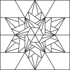 icecrystal lineart 100 Blocks Volume 2: Ice Crystal