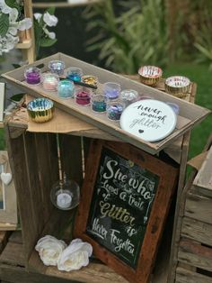 Glitter is the go-to thing for Weddings. At Glamavan we starting to use Bio-Degradable Glitter Festival Garden Party, Festival Themed Party, Festival Wedding, Diy Festival, Festival Camping, Festival Style, Festival Fashion, Disco Theme Parties, Disco Party