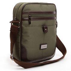 Crossbody Messenger Bag for Men Shoulder Bags Adrena 103 Backpack Store, Travel Backpack, Messenger Bag Men, Crossbody Messenger Bag, Leather Bag Design, Back Bag, Branded Bags, Cross Bags, Shoulder Bags