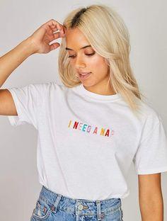 Simple Shirts, Casual T Shirts, Cute Shirts, T-shirt Broderie, I Need A Nap, Skinnydip London, Moda Vintage, Tie Dye, T Shirts For Women