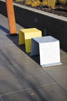 sinus park benches by mmcité