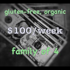Invaluable #glutenfree guide to feeding a family of fout