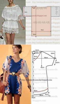 45 Ideas Sewing Patterns For Beginners Shirt Dress Tutorials For 2019 Sewing Clothes Women, Diy Clothes, Clothes For Women, Barbie Clothes, Blouse Patterns, Clothing Patterns, Sewing Patterns, Shirt Dress Tutorials, Diy Kleidung