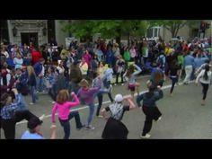 Tulip Time Flash Mob | May 12, 2012 Holland MI
