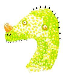 Dinosaur! - Lorna Scobie Illustration