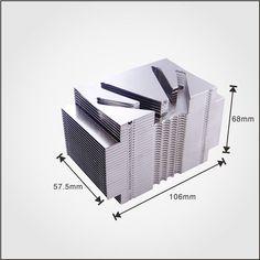 OEM heat pipe heat sink factory aluminum module with great heat dissipation.