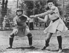 Have you ever wondered why there isn't a professional baseball league for girls? Sure, there's softball, but there are also plenty of athletic women who are cap Baseball Lineup, Baseball Display, Baseball Uniforms, Baseball League, Baseball Season, Baseball Players, Baseball Tickets, Baseball Cleats, Sports