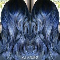 Is there any way it doesn't look absolutely stunning? | Denim Hair Is The Latest Hair Color Trend And It's Ridiculously Beautiful