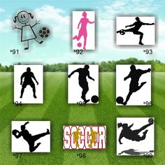 CHEERLEADING Vinyl Decals  Car Stickers Cheerleader - Soccer custom vinyl decals for car windows